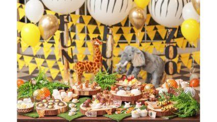 子どもが大喜び!アニマルスイーツブッフェ「FUN! FUN! ZOO Kids Sweets Party」