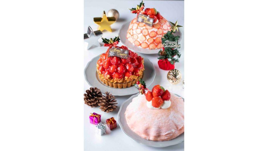 いちごBonBonBERRY 伊豆の国factoryのクリスマスケーキはいちご尽くし!