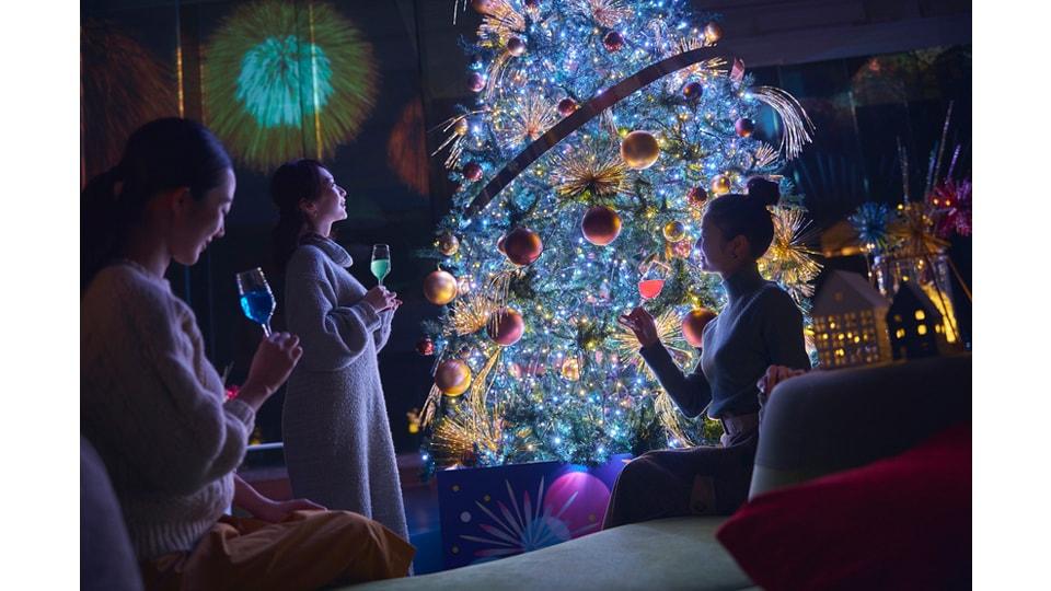 花火クリスマス