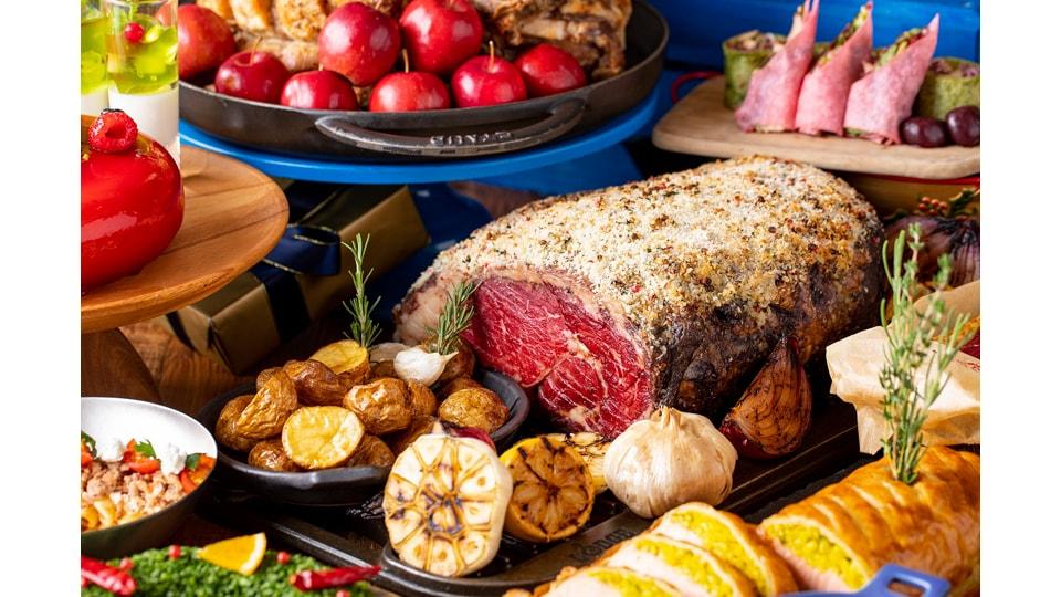 ヒルトン名古屋 クリスマスランチ&ディナービュッフェ