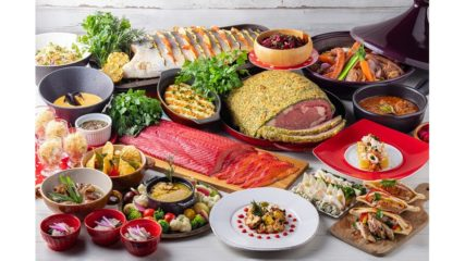 肉と魚のヘルシー料理を堪能!ウィンターランチ&ディナービュッフェ