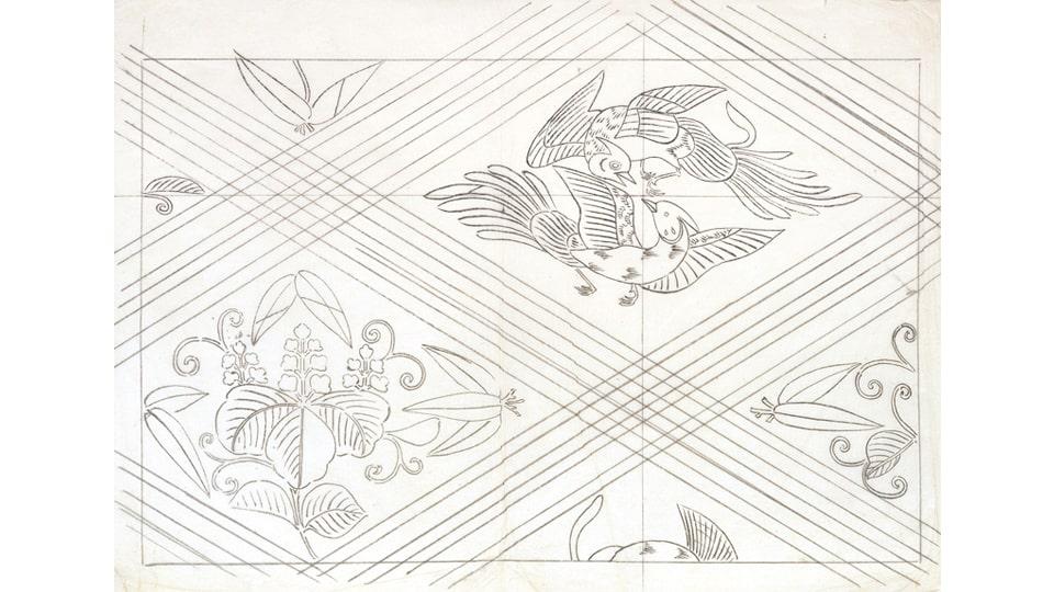 千代紙 花鳥風月