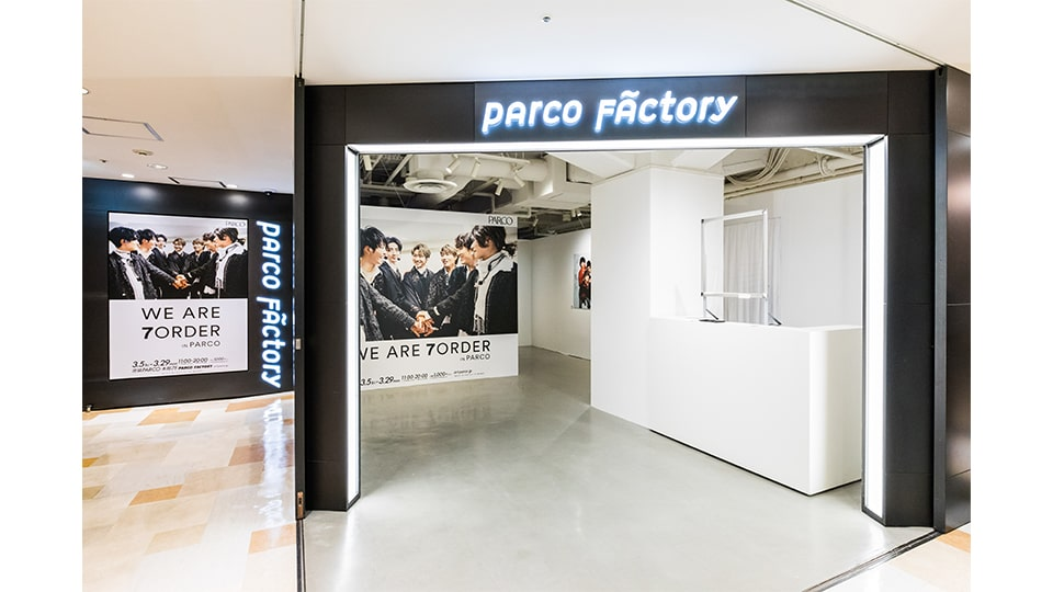 WE ARE 7ORDER IN PARCO 名古屋パルコ