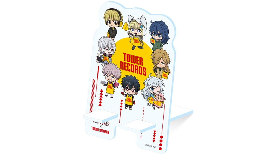 TVアニメ「怪物事変」× TOWER RECORDS CAFEコラボ