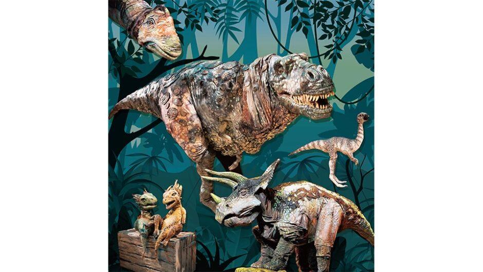 楽しく学べるリアル恐竜ショー「恐竜パーク」静岡・愛知で開催