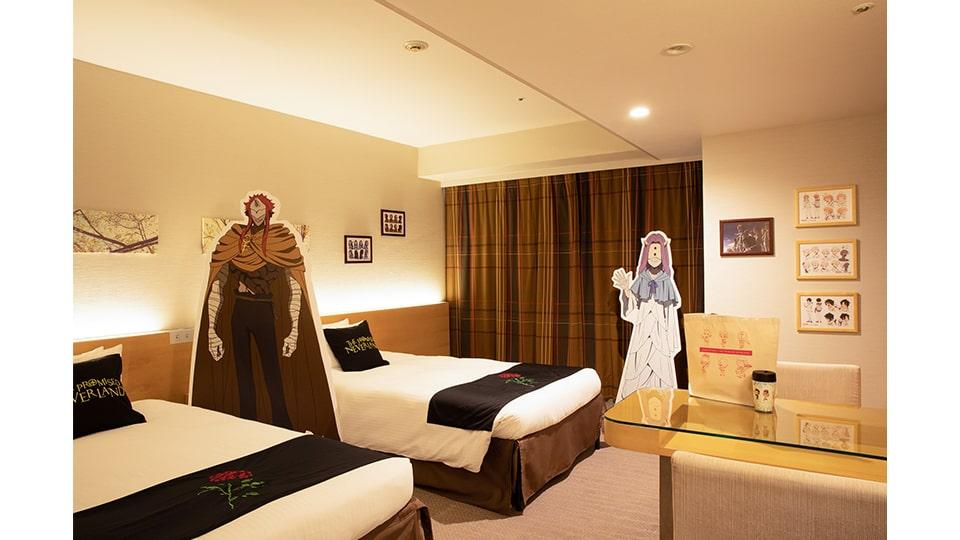 約束のネバーランド×ホテル京阪