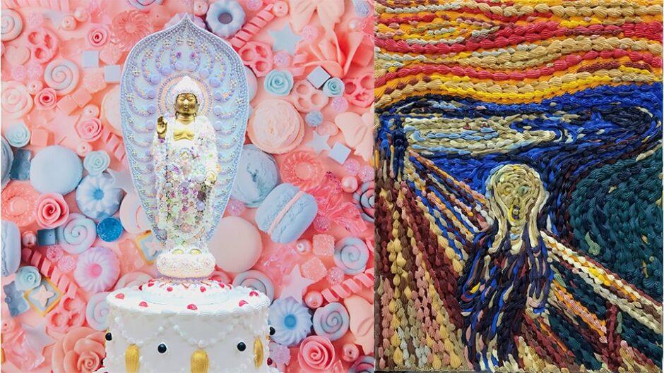 スイーツデコアートを展示!渡辺おさむ-お菓子の美術館にようこそ-