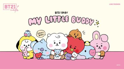 「BT21カフェ」第9弾 ~MY LITTLE BUDDY~ 名古屋・栄にオープン