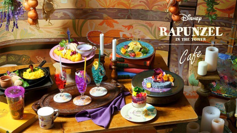 名古屋パルコで「塔の上のラプンツェル」OH MY CAFE期間限定オープン