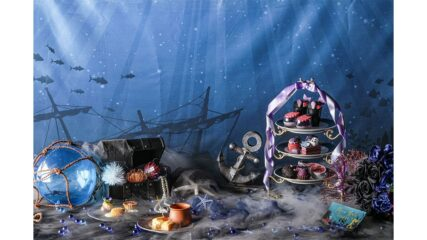テーマは海の魔女!ダークプリンセスアフタヌーンティー期間限定販売
