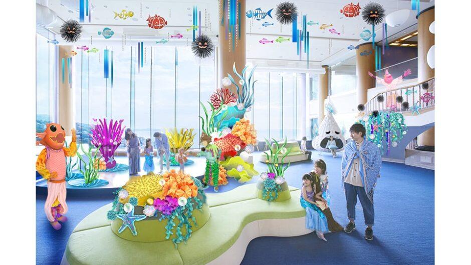 リゾナーレ熱海「海のいきものハロウィン」スタンプラリーも開催!