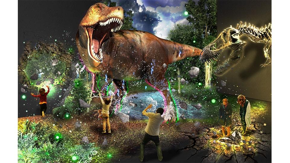 ティラノサウルス展 名古屋市科学館